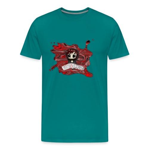 bigg 000000 png - Men's Premium T-Shirt