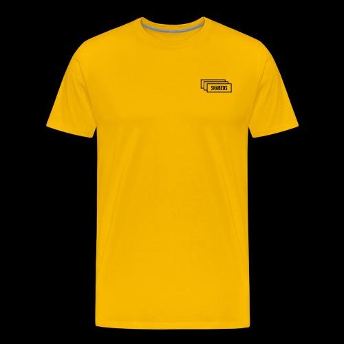 Stacked Watermark No C - Men's Premium T-Shirt