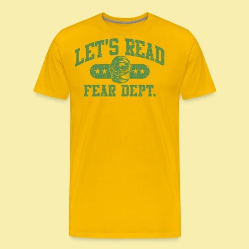 Athletic - Fear Dept. - Men's Premium T-Shirt