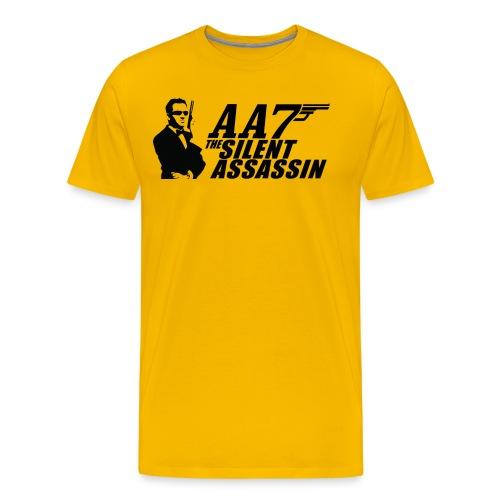 aa7 silent assassin new gun - Men's Premium T-Shirt