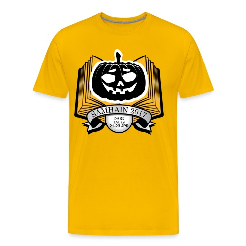 Samhain 2017 Logo shirt - Men's Premium T-Shirt