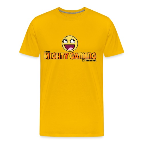 Mighty Gaming Channel Epic Face - Men's Premium T-Shirt