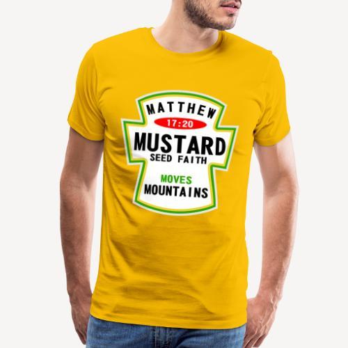 MUSTARD SEED FAITH - Men's Premium T-Shirt