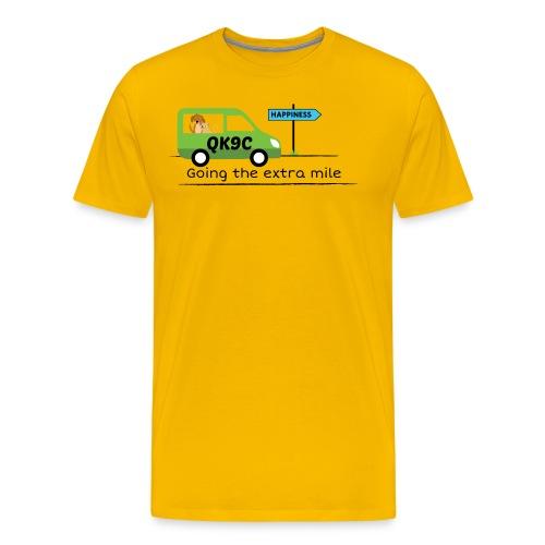 Going the extra mile - Men's Premium T-Shirt