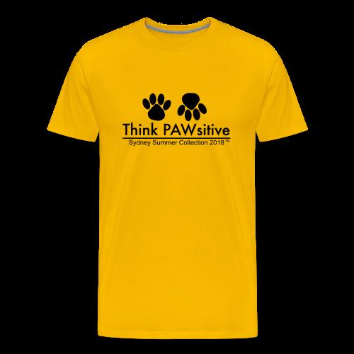 PAWsitive - Men's Premium T-Shirt