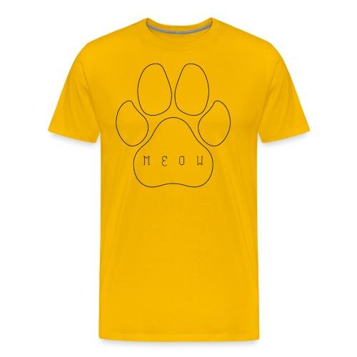 Meow paw - Men's Premium T-Shirt