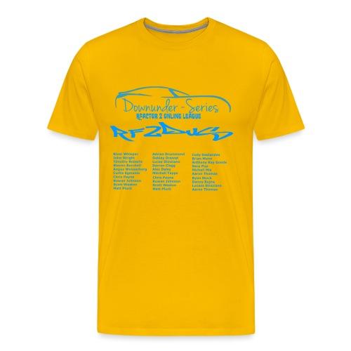 rf2dus with name - Men's Premium T-Shirt