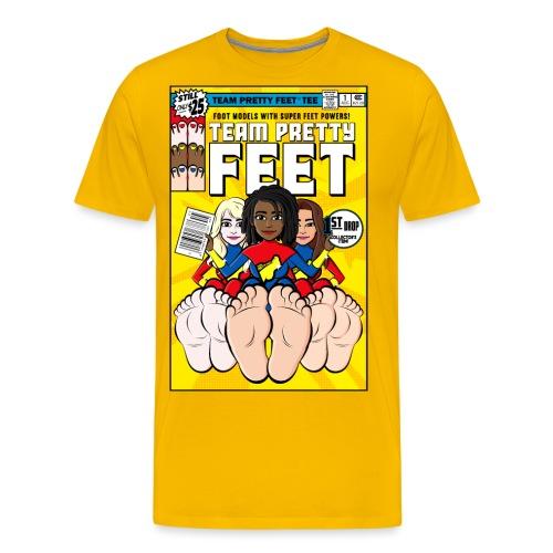 TEAM PRETTY FEET Comic Cover (Variant Edition 1) - Men's Premium T-Shirt