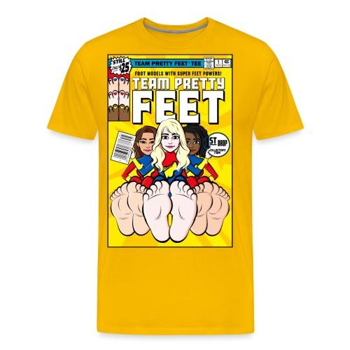 TEAM PRETTY FEET Comic Cover (Variant Edition 2) - Men's Premium T-Shirt
