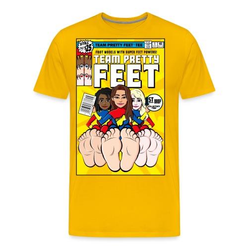 TEAM PRETTY FEET Comic Cover (Variant Edition 3) - Men's Premium T-Shirt