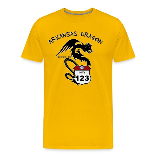 The Arkansas Dragon T-Shirt - Men's Premium T-Shirt