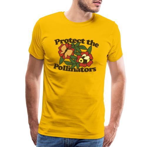 Protect the pollinators - Men's Premium T-Shirt