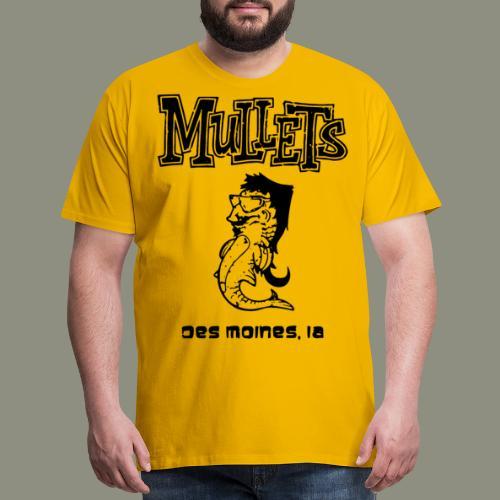 mulletmain black - Men's Premium T-Shirt