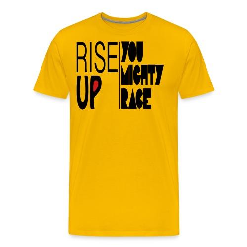 RISE UP - Men's Premium T-Shirt