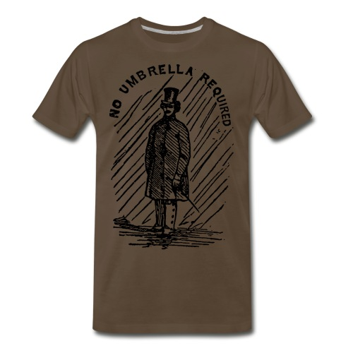 no umbrella requiered - Men's Premium T-Shirt