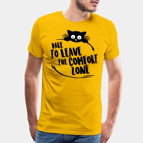 leave the comfort zone - Men's Premium T-Shirt