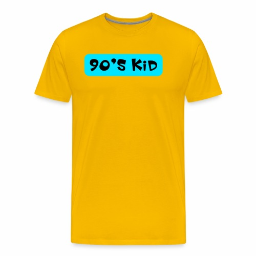 90's KID - Men's Premium T-Shirt