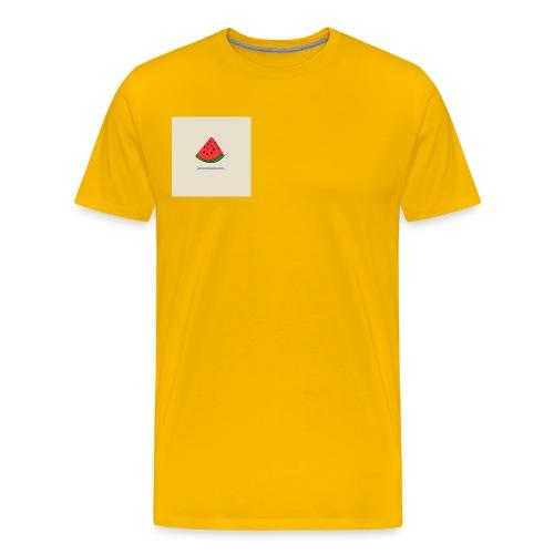 Coastal Watermelon - Men's Premium T-Shirt