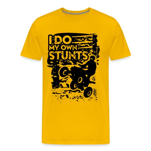 ATV Quad My Own Stunts - Men's Premium T-Shirt