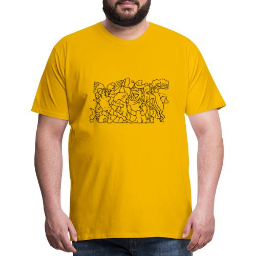 Pergamon Altar Berlin - Men's Premium T-Shirt
