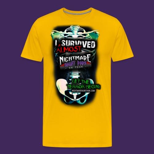 skeleton2f - Men's Premium T-Shirt