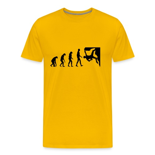 Funny Rock Climbing - Men's Premium T-Shirt