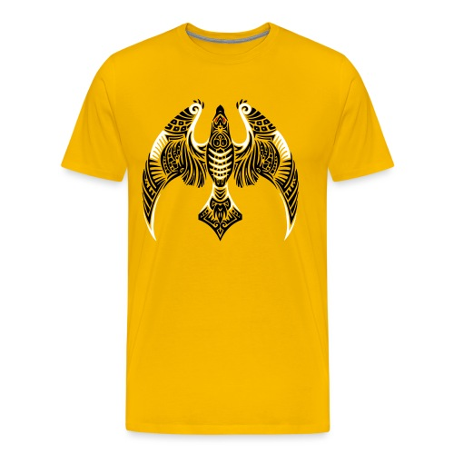 Hawk Totem - Men's Premium T-Shirt