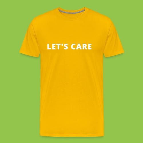 Let's Care shirt - Men's Premium T-Shirt