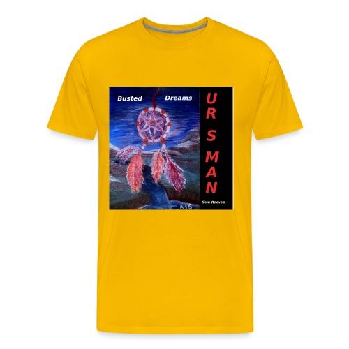 Busted Dreams Album CD Co - Men's Premium T-Shirt