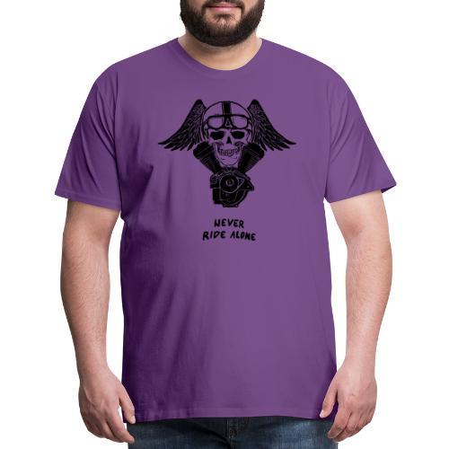 V TWIN WHITE - Men's Premium T-Shirt