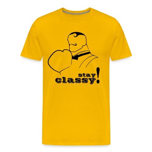 Stay Classy! - Men's Premium T-Shirt