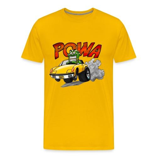 Powa Sportscar - Men's Premium T-Shirt