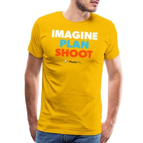 Imagine. Plan. Shoot! - Men's Premium T-Shirt
