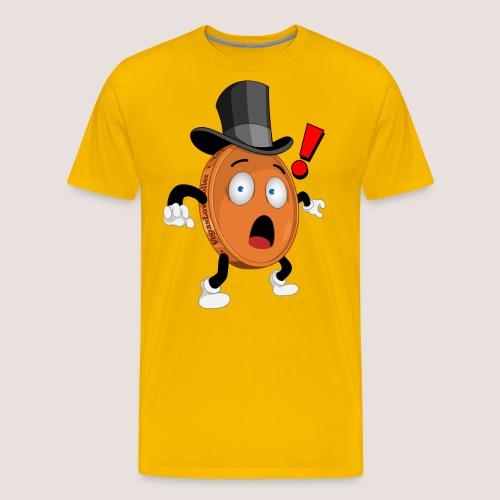 THE SURPRISED PENNY - Men's Premium T-Shirt