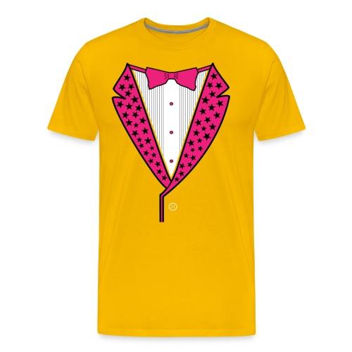 PINK STAR TUXEDO - Men's Premium T-Shirt