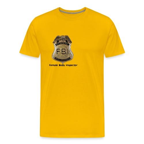 FBI Acronym - Men's Premium T-Shirt