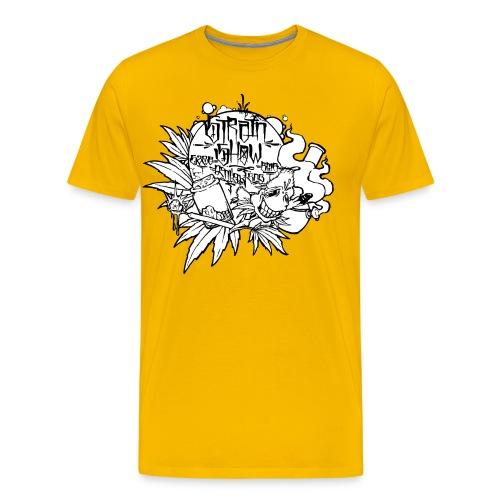 High and Happy Bud - Men's Premium T-Shirt