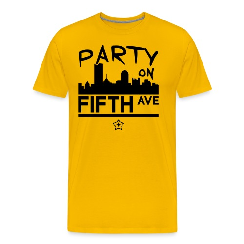 party_on_fifth2 - Men's Premium T-Shirt