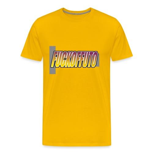 Fuckoffuto logo png - Men's Premium T-Shirt