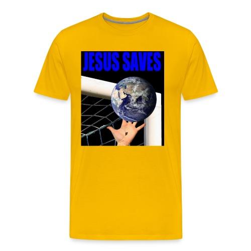 Jesus Saves - Men's Premium T-Shirt