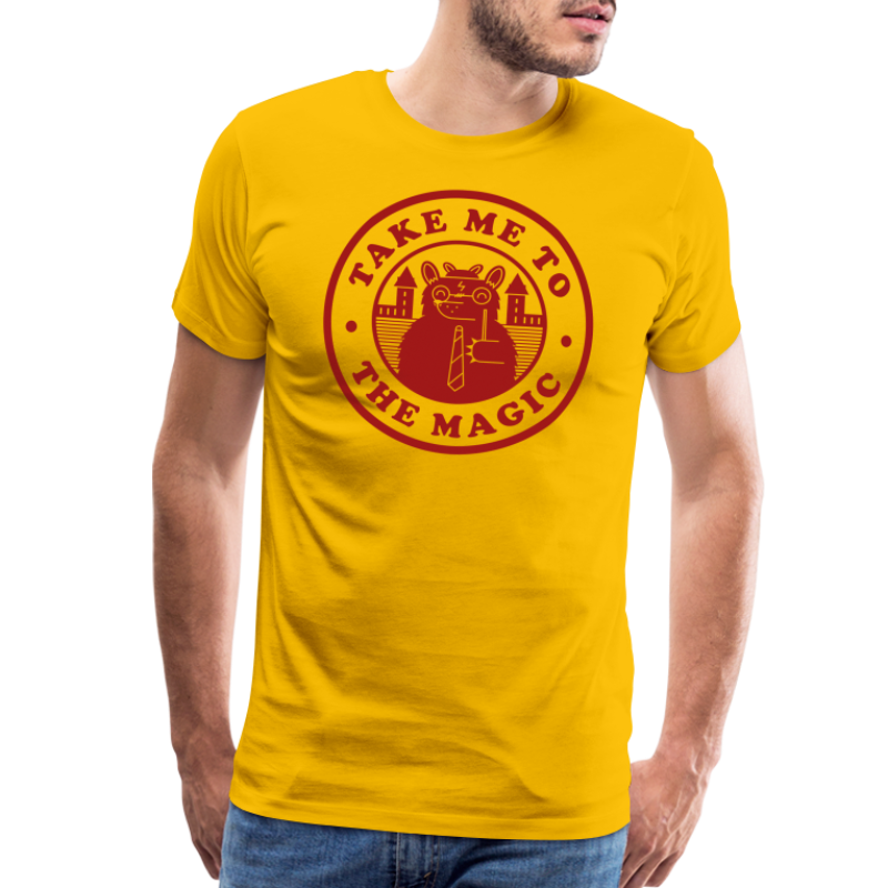 Take Me To The Magic Griff png - Men's Premium T-Shirt