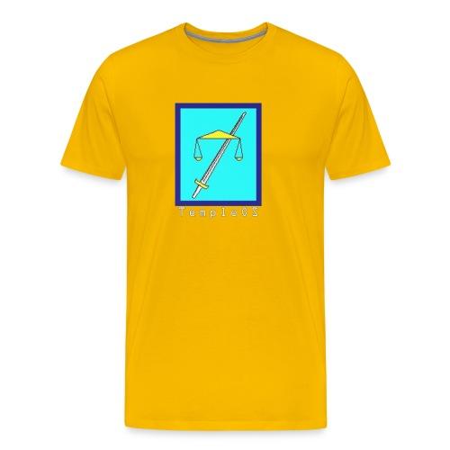 TempleOS temple - Men's Premium T-Shirt