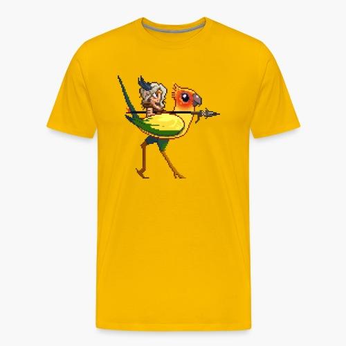 yellowBird png - Men's Premium T-Shirt