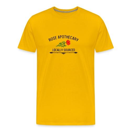 Rose Apothecary logo - Men's Premium T-Shirt