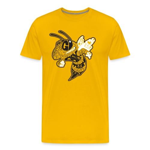 Corner Yellow Jacket - Men's Premium T-Shirt