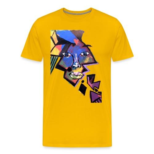 Face Me Artwork - Men's Premium T-Shirt