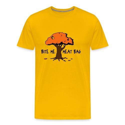 meatbag tree - Men's Premium T-Shirt