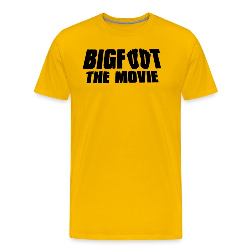 bigfoot the movie - Men's Premium T-Shirt