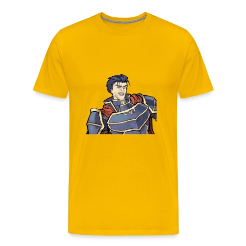 Hector Laugh Single - Men's Premium T-Shirt