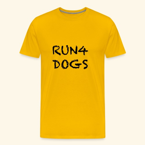RUN4DOGS NAME - Men's Premium T-Shirt